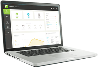laptop z programem User Lock